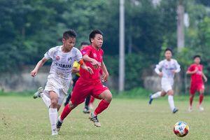 Sông Lam Nghệ An chạm trán Hà Nội tại bán kết Giải Bóng đá thiếu niên toàn quốc