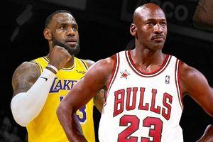 LeBron James và Michael Jordan, ai là số 1 lịch sử NBA?
