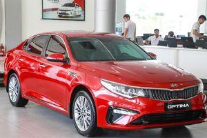 Giá xe ô tô hôm nay 13/10: Kia Optima hiện dao động từ 759 - 919 triệu đồng