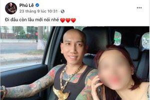 Facebook Phú Lê đăng hình đi chơi, ôm vợ… sốc đã 'ra trại'?