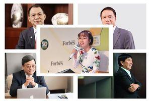 Chân dung top 5 doanh nhân đang giàu nhất sàn chứng khoán Việt