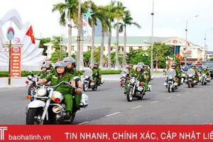Chủ động các phương án đảm bảo an ninh, an toàn cho đại hội Đảng bộ Hà Tĩnh