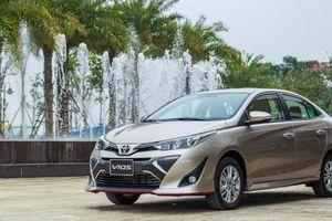 Doanh số Toyota Vios gần bằng các đối thủ cộng lại