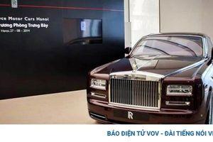 Đại lý chính thức Rolls-Royce tại Việt Nam ngừng hoạt động