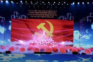 Chương trình nghệ thuật chào mừng thành công của Đại hội Đại biểu Đảng bộ TP Hà Nội lần thứ XVII