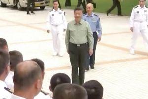 Chủ tịch Trung Quốc Tập Cận Bình thăm căn cứ hải quân