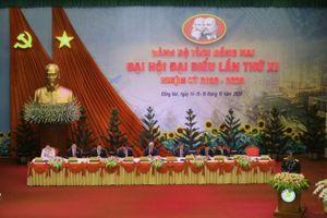 Đại hội đại biểu Đảng bộ tỉnh Đồng Nai lần thứ XI họp phiên trù bị