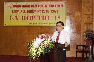 Thanh Hóa: Ông Hoàng Văn Đồng giữ chức Chủ tịch UBND huyện Thọ Xuân