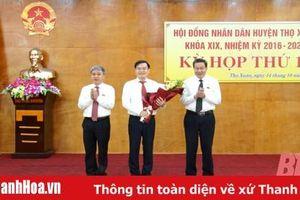 Thọ Xuân có tân Chủ tịch UBND huyện