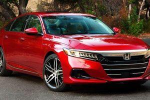 Honda Accord thế hệ thứ 10 nhận nâng cấp đầu tiên