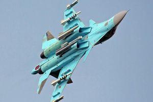 Phi công Su-34 Nga luyện không chiến ở độ cao 15 km với tốc độ siêu thanh