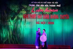 25 đơn vị tham gia Liên hoan nghệ thuật hát Chèo không chuyên Hà Nội