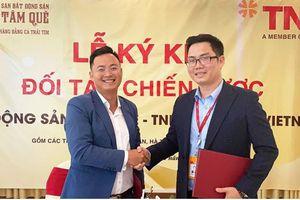 Tâm Quê hợp tác cùng TNR Holdings Vietnam thúc đẩy thị trường bất động sản miền Trung