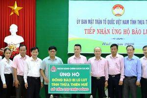 Ngân hàng Chính sách xã hội Việt Nam hỗ trợ người dân Thừa Thiên Huế khắc phục hậu quả do lũ lụt gây ra