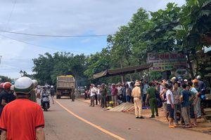 Nữ sinh đi học về bị xe tải cán tử vong