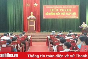 Huyện Thọ Xuân làm tốt công tác hòa giải ở cơ sở