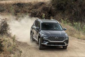 Hyundai SantaFe facelift 2021 'Mỹ tiến'