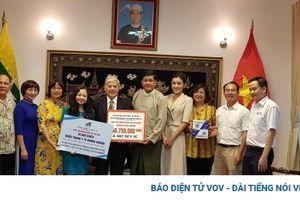 Hội hữu nghị Việt Nam-Myanmar kêu gọi quyên góp ủng hộ nhân dân Myanmar
