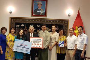 Hội hữu nghị Việt Nam - Myanmar hỗ trợ nước bạn chống COVID-19