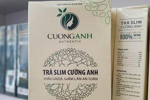 Ngoài Trà Slim Cường Anh, sản phẩm giảm cân nào chứa Sibutramine nguy hại?