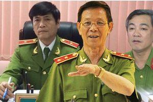 'Điểm mặt' tướng - tá công an ngã ngựa vì bảo kê tội phạm