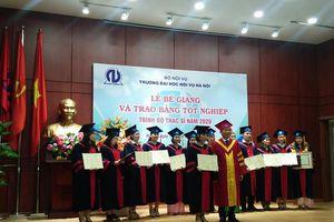 Trường ĐH Nội vụ Hà Nội trao bằng tốt nghiệp thạc sĩ khóa I và khai giảng khóa III