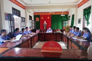 VKSND huyện Gò Công Đông tổ chức tọa đàm rút kinh nghiệm trong công tác xét xử
