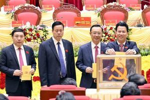 Ban Thường vụ Tỉnh ủy Hà Giang nhiệm kỳ 2020-2025: 1/15 ủy viên là nữ
