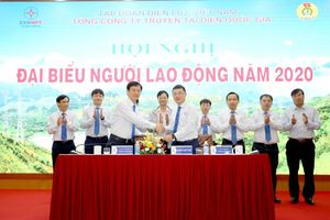 EVNNPT tổ chức Hội nghị Người lao động năm 2020