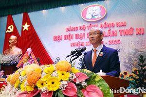 Đồng chí Nguyễn Phú Cường tái đắc cử Bí thư Tỉnh ủy Đồng Nai