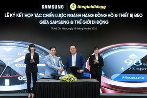 Thế Giới Di Động phân phối độc quyền Samsung Galaxy Watch 3