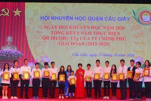Khen thưởng hơn 360 học sinh có thành tích xuất sắc năm học 20219 -2020