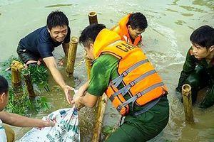 Huấn luyện kỹ năng cứu hộ, cứu nạn cho CBCS tuyến đầu trong công tác phòng chống thiên tai