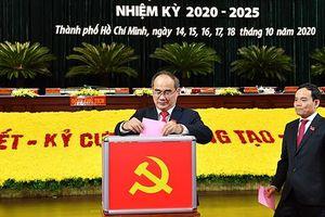61 người trúng cử Ủy viên Ban Chấp hành Đảng bộ TP HCM khóa XI