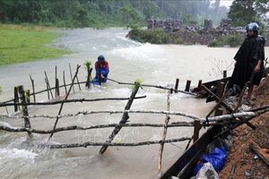 Mưa lũ khiến hơn 11.000 ngôi nhà tại Quảng Bình bị ngập, nhiều thôn bản bị chia cắt cục bộ