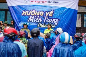 TC Motor triển khai hoạt động cứu trợ tại miền Trung