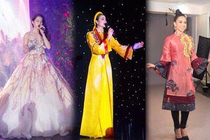 Hoa hậu Việt đồng loạt chọn áo dài để thi Tài năng, duy Nam Em 'đại thắng' với ý tưởng thú vị