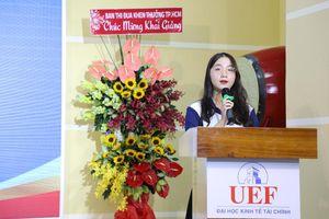 Trường ĐH Kinh tế - Tài chính TP.HCM tổ chức lễ khai giảng năm học mới, trao gần 30 tỷ đồng học bổng
