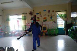 Chủ động giữ an toàn trường học trong mưa bão