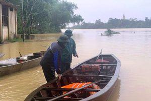 Học sinh miền núi Hà Tĩnh tiếp tục nghỉ học do ngập lụt