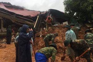 Huy động mọi lực lượng tìm kiếm 22 cán bộ, chiến sĩ bị vùi lấp trong vụ sạt lở đất nghiêm trọng tại Quảng Trị