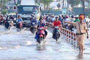 Ðảm bảo an toàn giao thông khi triều cường dâng cao