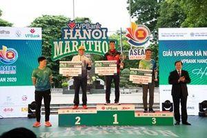Gần 6.000 người tham gia chạy thực tế tại VPBank Hanoi Marathon ASEAN 2020