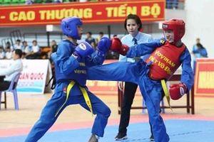 Gần 800 vận động viên tham dự Giải vô địch trẻ Vovinam toàn quốc 2020