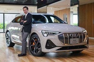 Audi e-tron Sportback có giá 170.000 USD tại Thái Lan