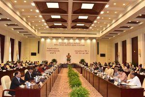 Hội nghị lần thứ 11 Ban Chấp hành T.Ư Đảng NDCM Lào Khóa X thông qua nhiều nội dung quan trọng