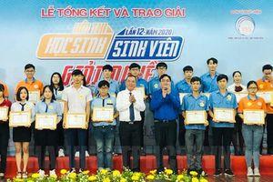Trao giải Hội thi 'Học sinh, sinh viên giỏi nghề' năm 2020
