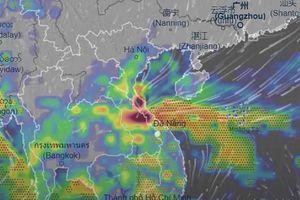 Miền Trung sẽ tiếp tục mưa lớn