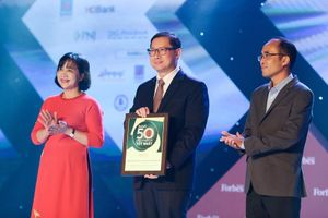 SABECO tiếp tục được vinh danh Top 50 công ty niêm yết tốt nhất 2020