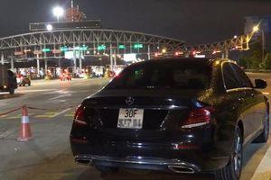 Lái xe sang Mercedes phóng bạt mạng 199km/h trên cao tốc Pháp Vân – Cầu Giẽ, tài xế bị phạt 11 triệu đồng, tước bằng lái 3 tháng